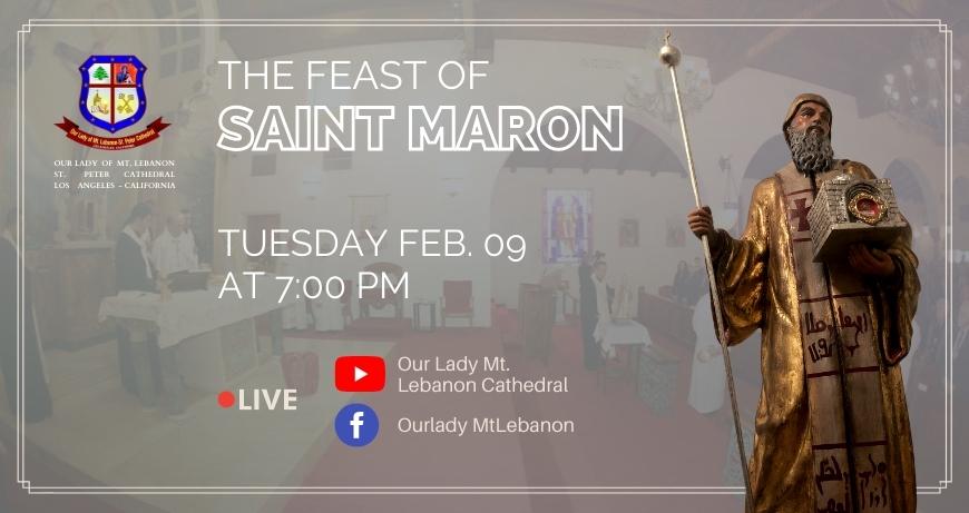 The Feast of SAINT MARON